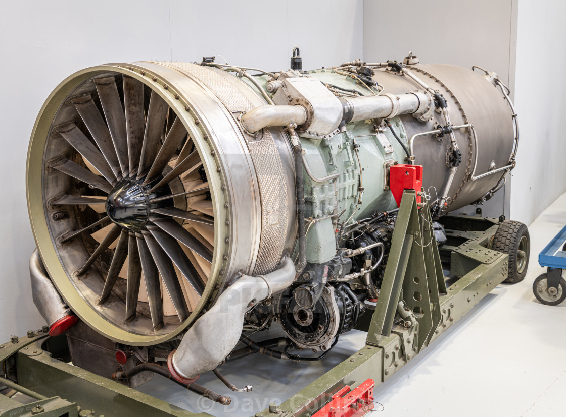 """""""Conway Jet Engine, RAF Museum, Cosworth"""" stock image"""