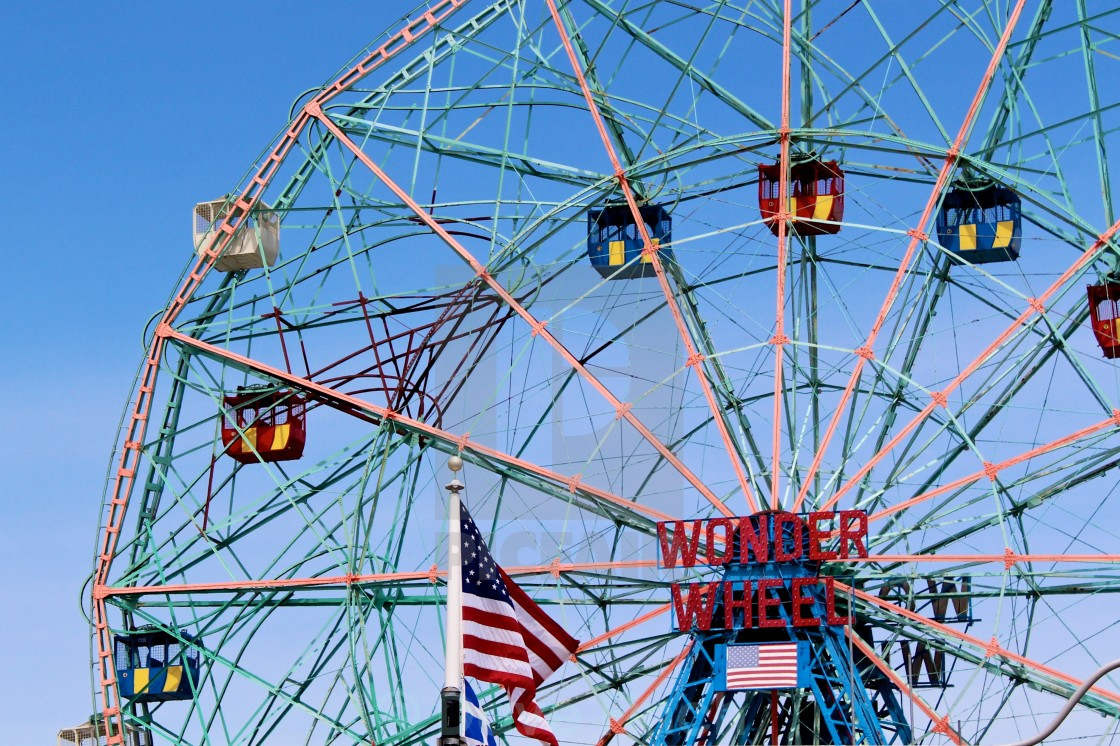 """Wonder Wheel"" stock image"