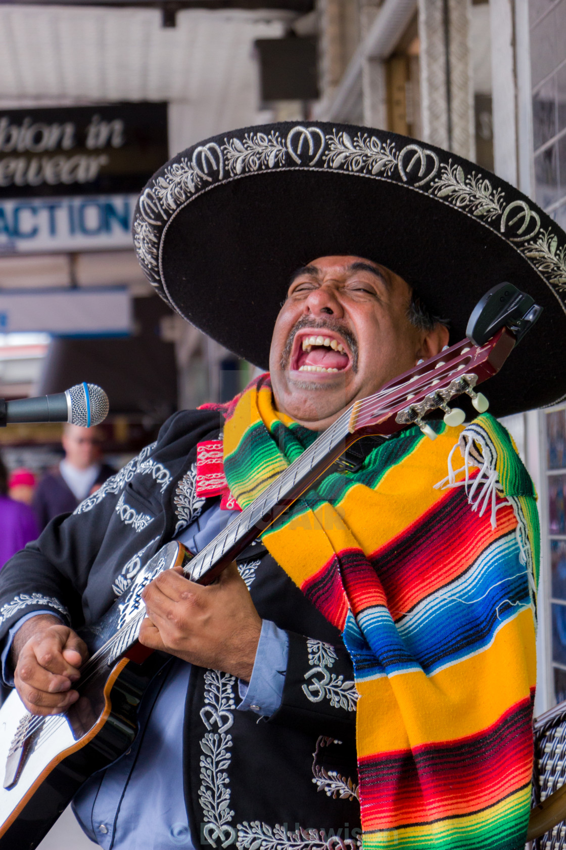 """Mexican Musician"" stock image"
