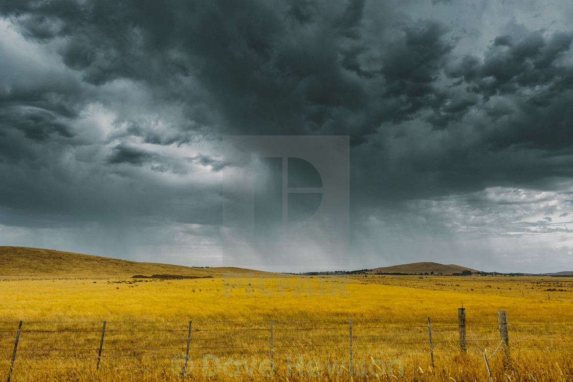 """Storm brewing"" stock image"