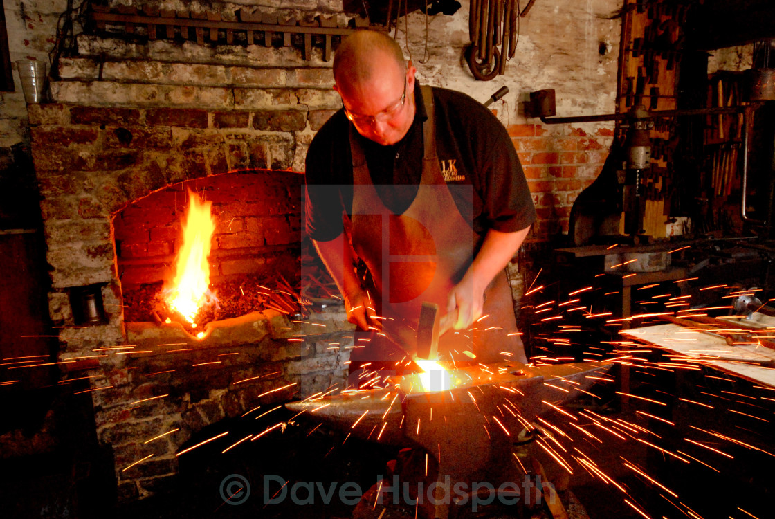 """The Blacksmith"" stock image"