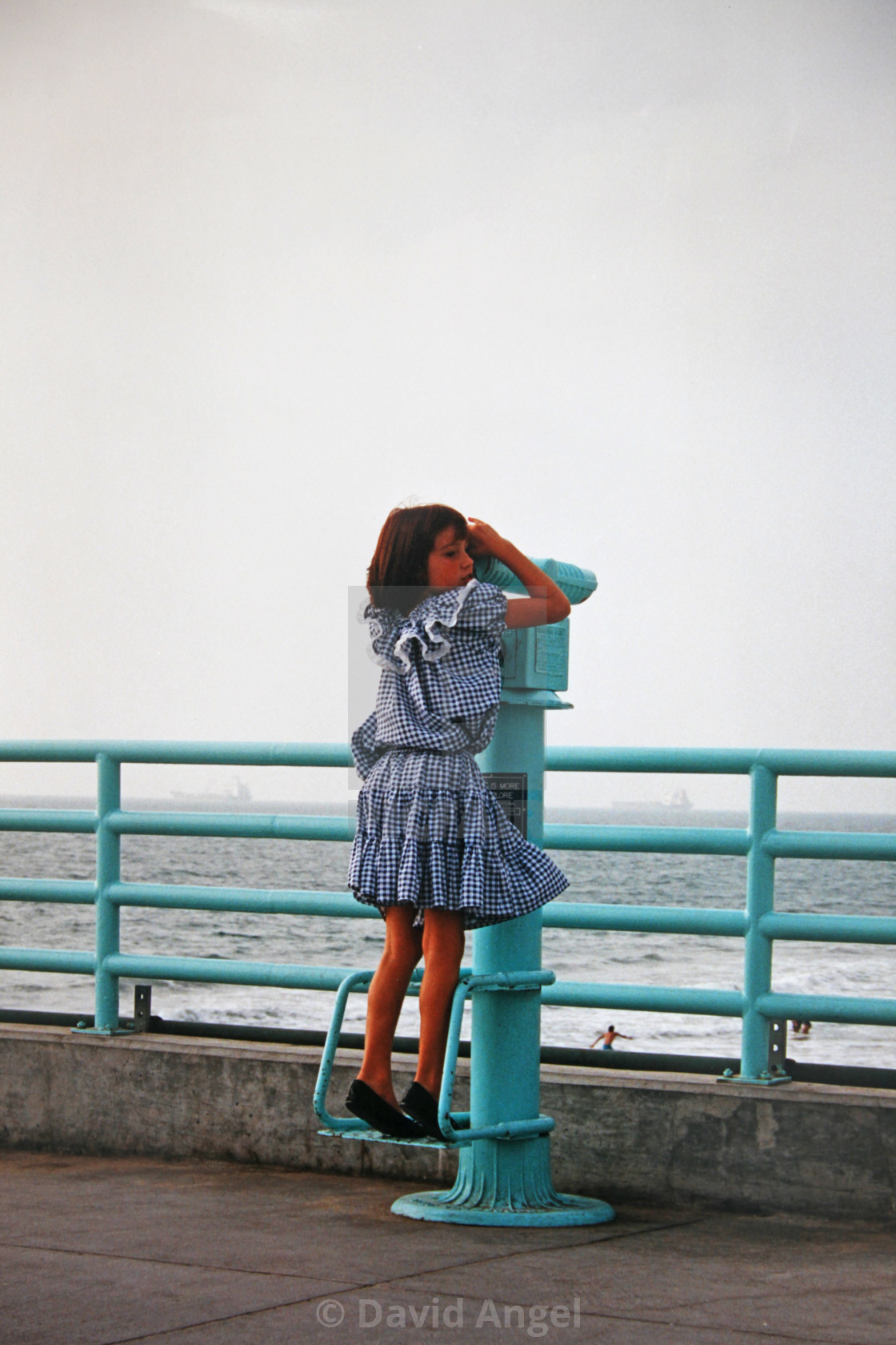 """""""Young girl in LA"""" stock image"""