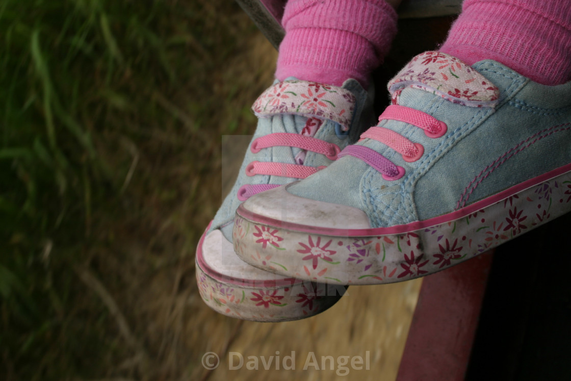 """Sophie's shoes"" stock image"
