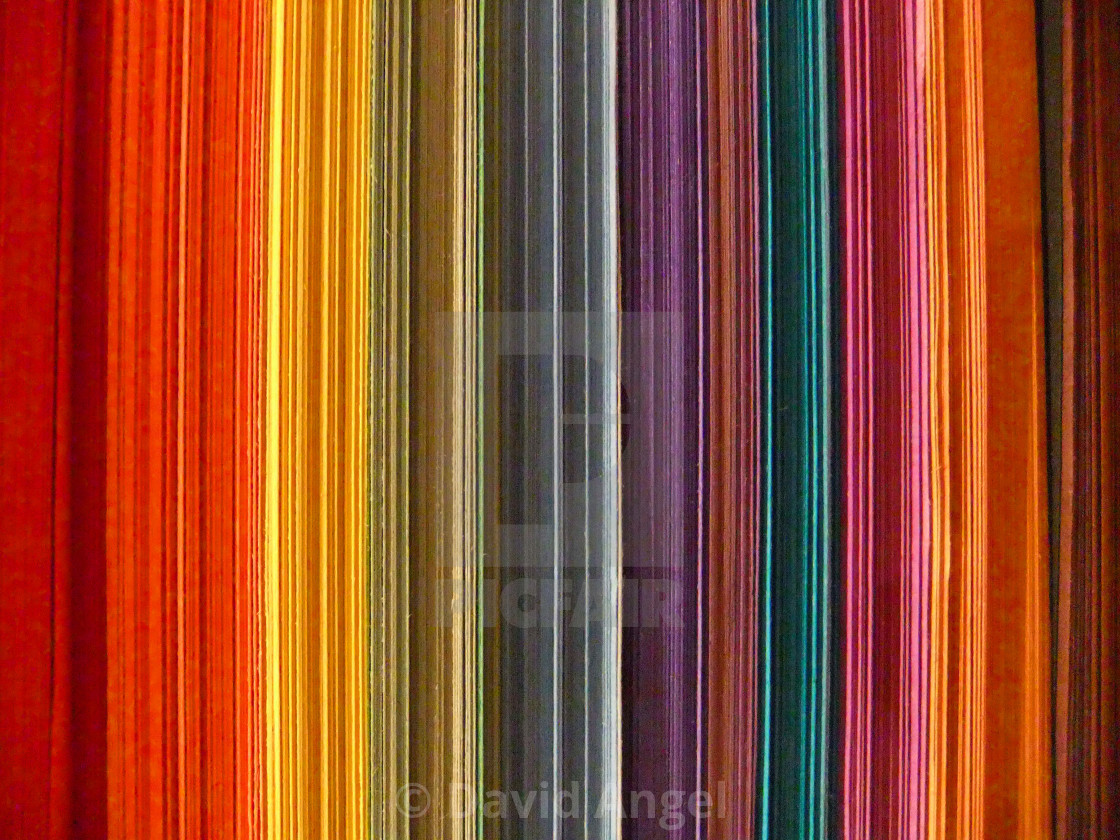 """Coloured paper"" stock image"