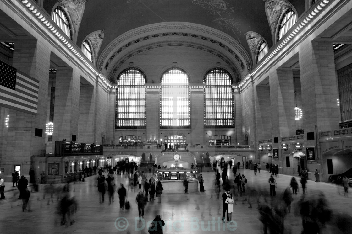 """Grand Central Wedding"" stock image"