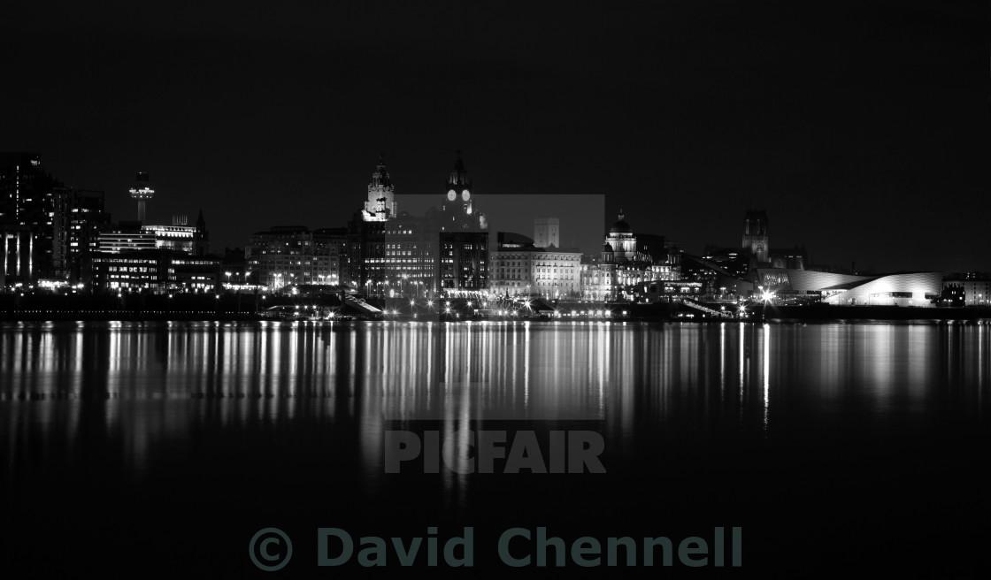 """Liverpool Cityscape"" stock image"