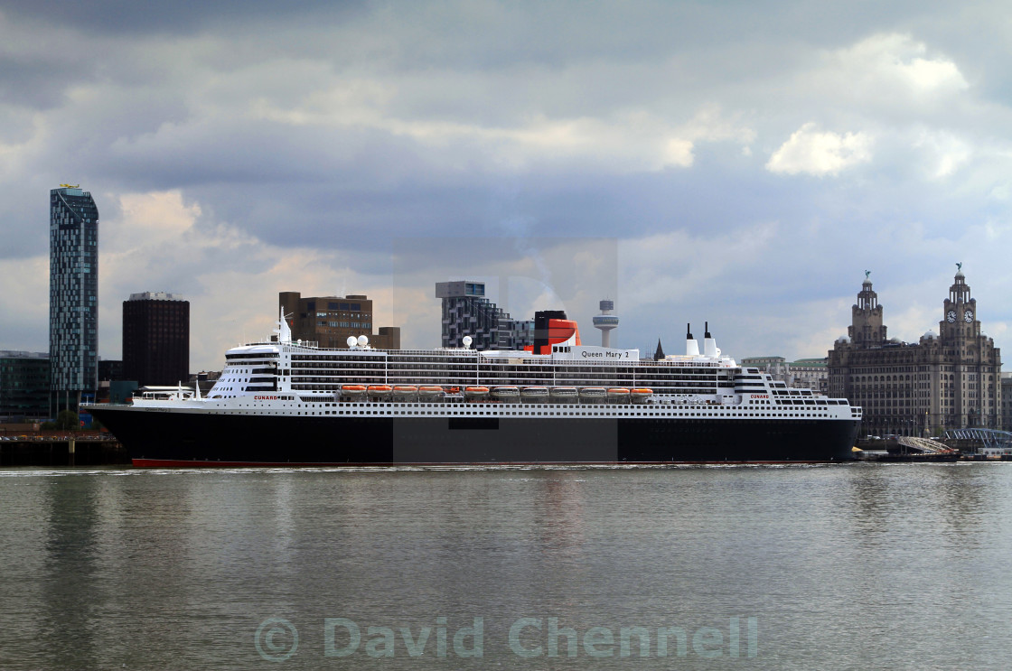 """Queen Mary 2"" stock image"