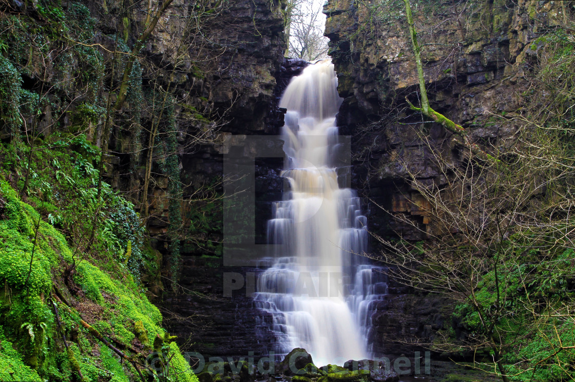"""""""Mill Gill Force Waterfall"""" stock image"""