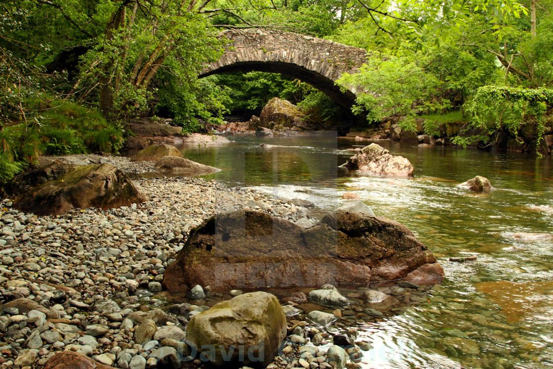 """River Esk Beauty"" stock image"