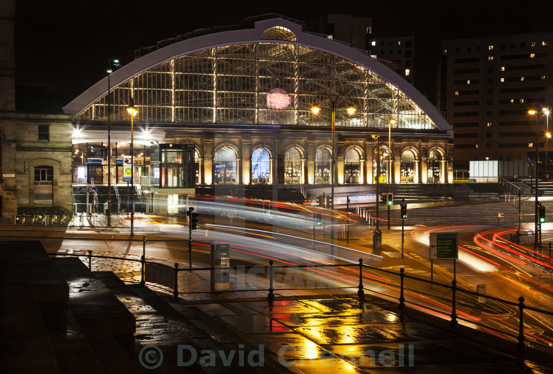 """Liverpool Lime Street Station"" stock image"