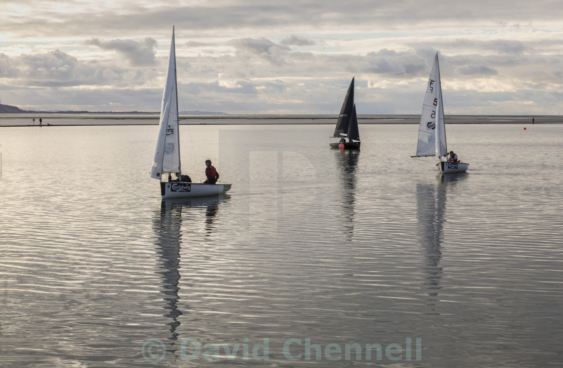 """Calm Water Sailing"" stock image"