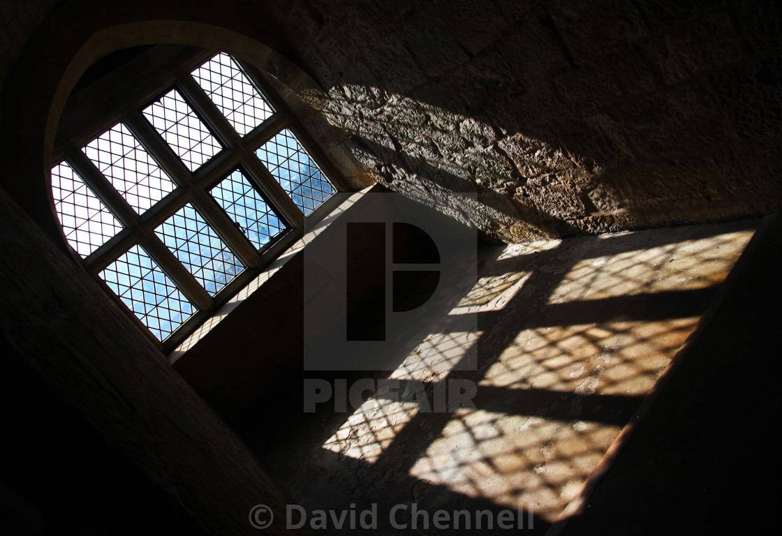 """Chirk Castle Abstract"" stock image"