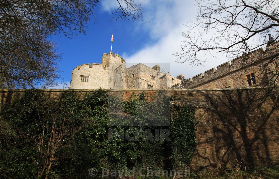 """Chirk Castle"" stock image"