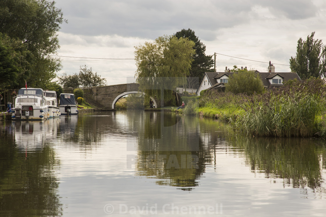"""Leeds Liverpool Canal"" stock image"