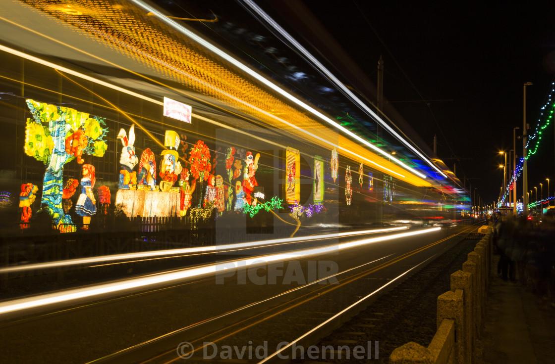 """Blackpool illuminations"" stock image"