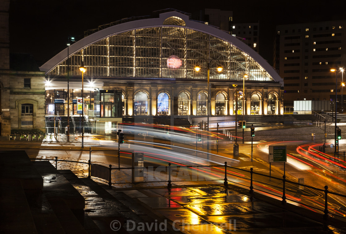 """Lime Street Station Liverpool"" stock image"
