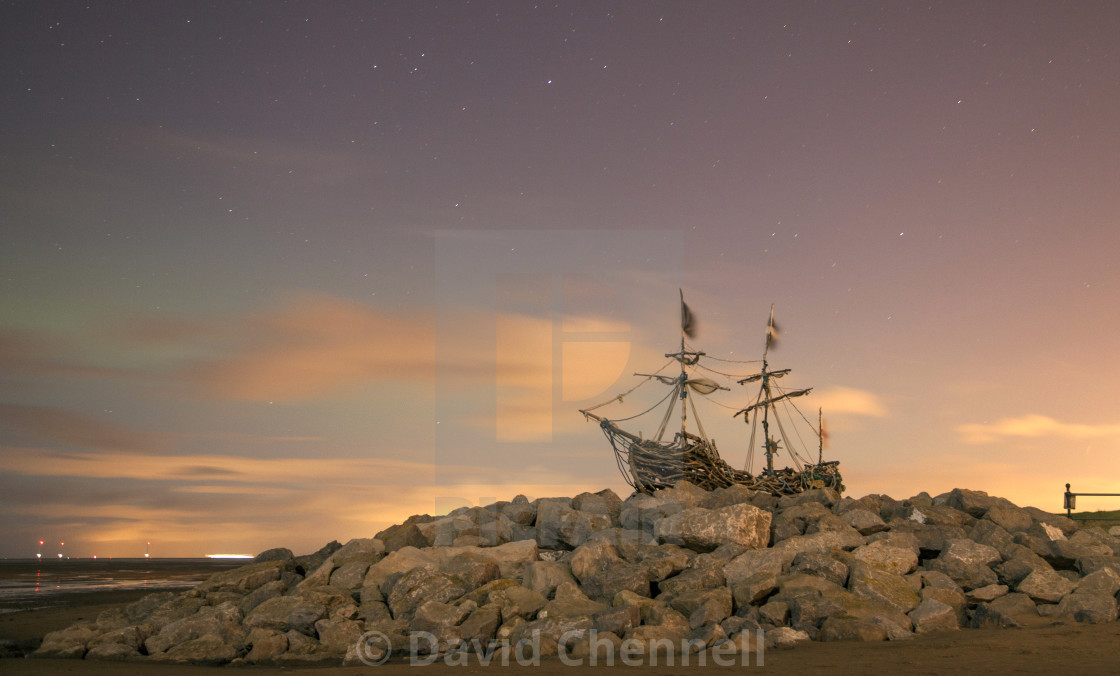 """Grace Darling Aurora"" stock image"