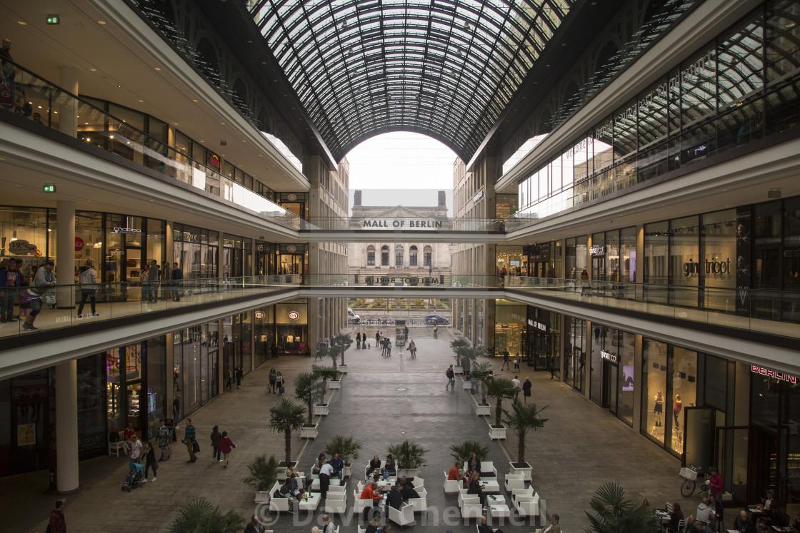 """Mall Of Berlin"" stock image"
