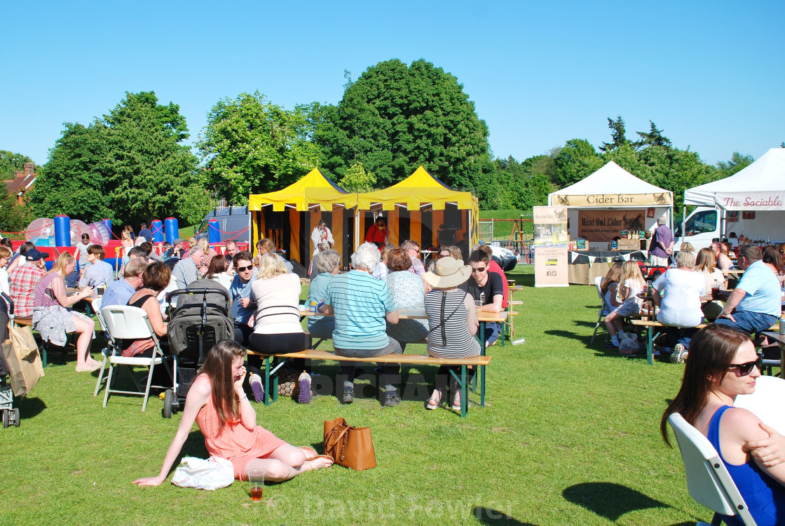 """Tenterden Food and Drink Festival"" stock image"