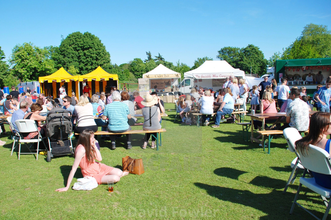 """Summer Food and Drink Festival"" stock image"