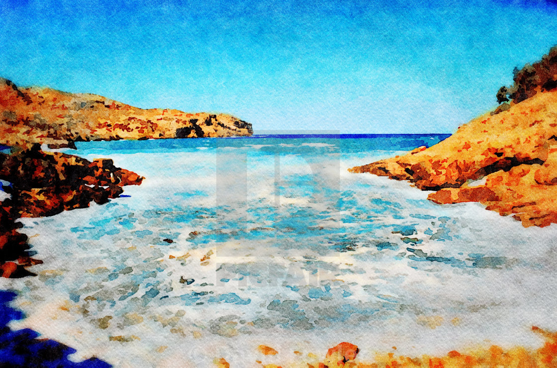 Cala San Vicente in Majorca - License, download or print for