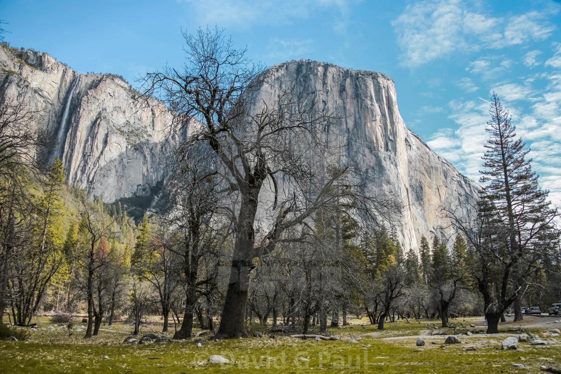"""""""El Capitan, Yosemite National Park"""" stock image"""