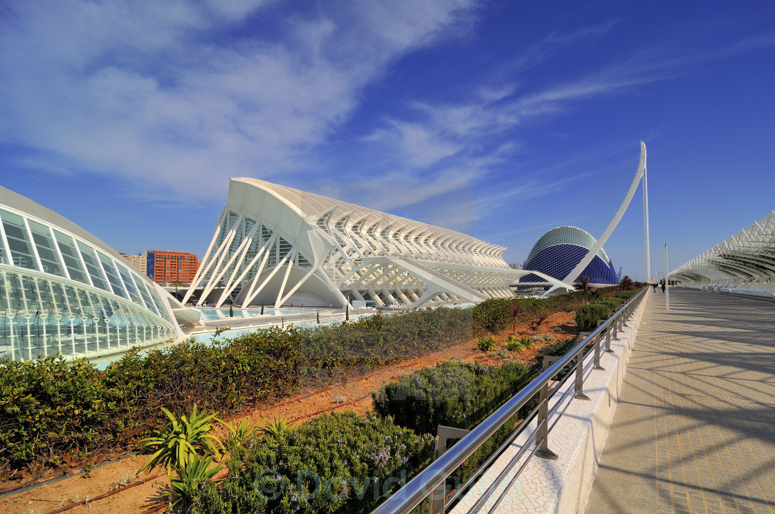 """Calatrava's works"" stock image"