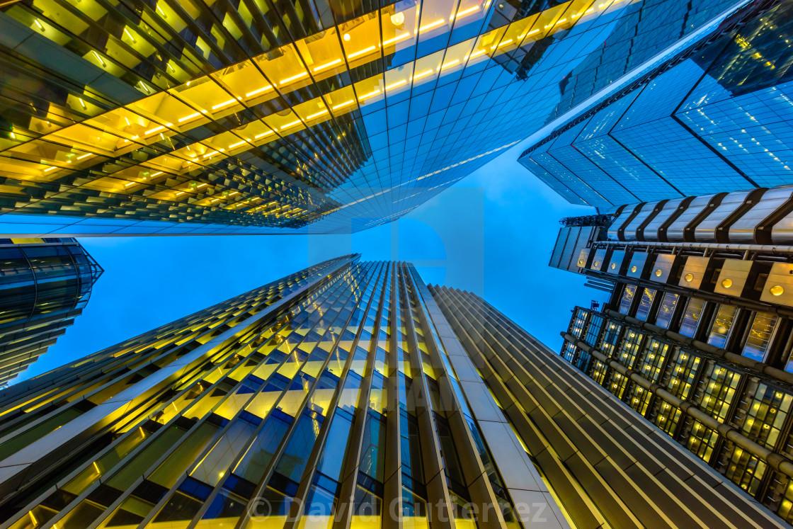 """London Skyscrapers"" stock image"