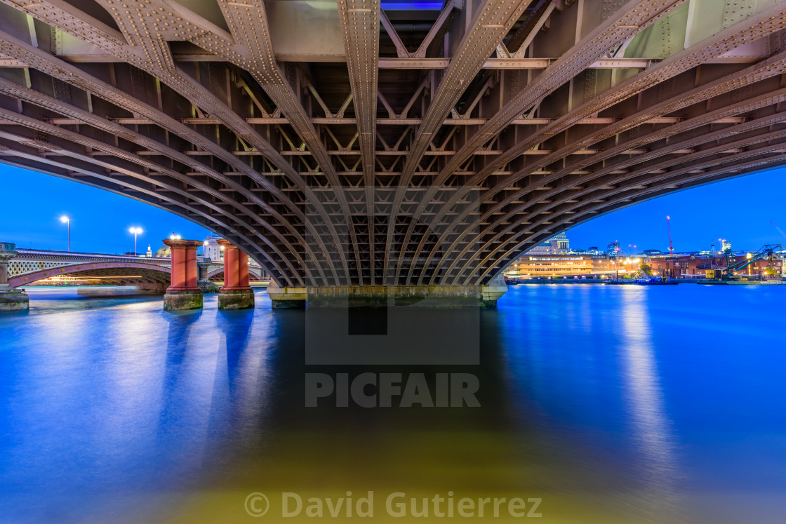"""Blackfriars Bridge - London, UK"" stock image"