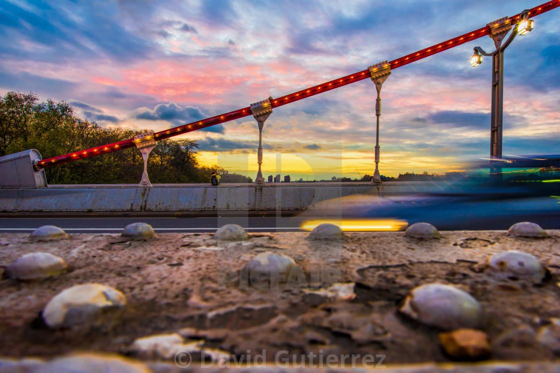 """""""Chelsea Bridge - London, UK (I)"""" stock image"""