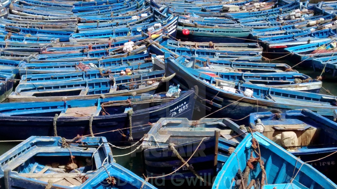 """""""Blue Harbour"""" stock image"""