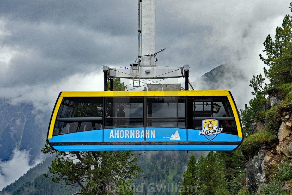 """""""Cable-car 2"""" stock image"""