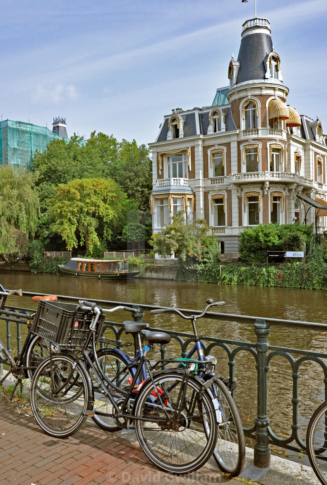 """""""Amsterdam canal 1"""" stock image"""