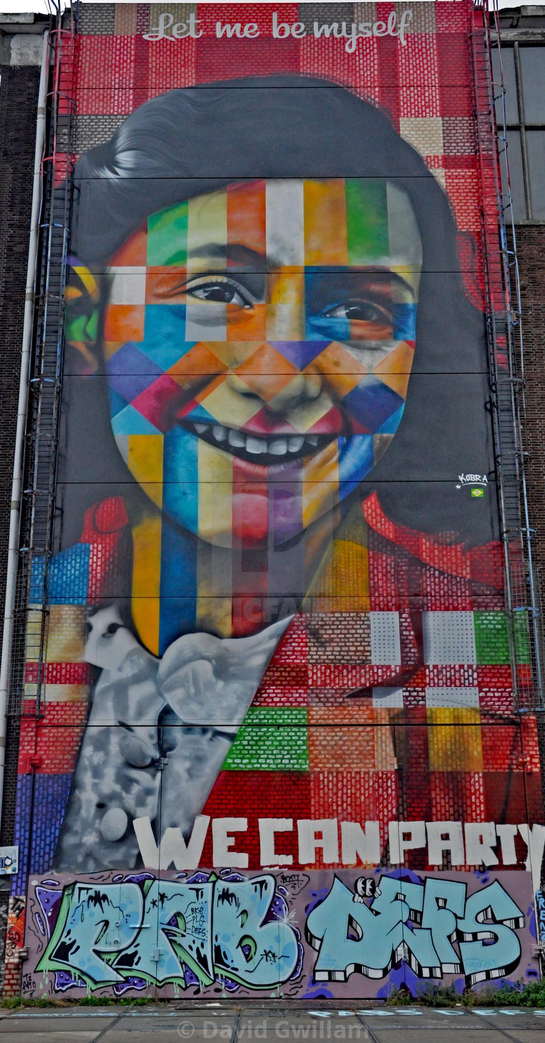 """""""Dutch graffiti 1"""" stock image"""
