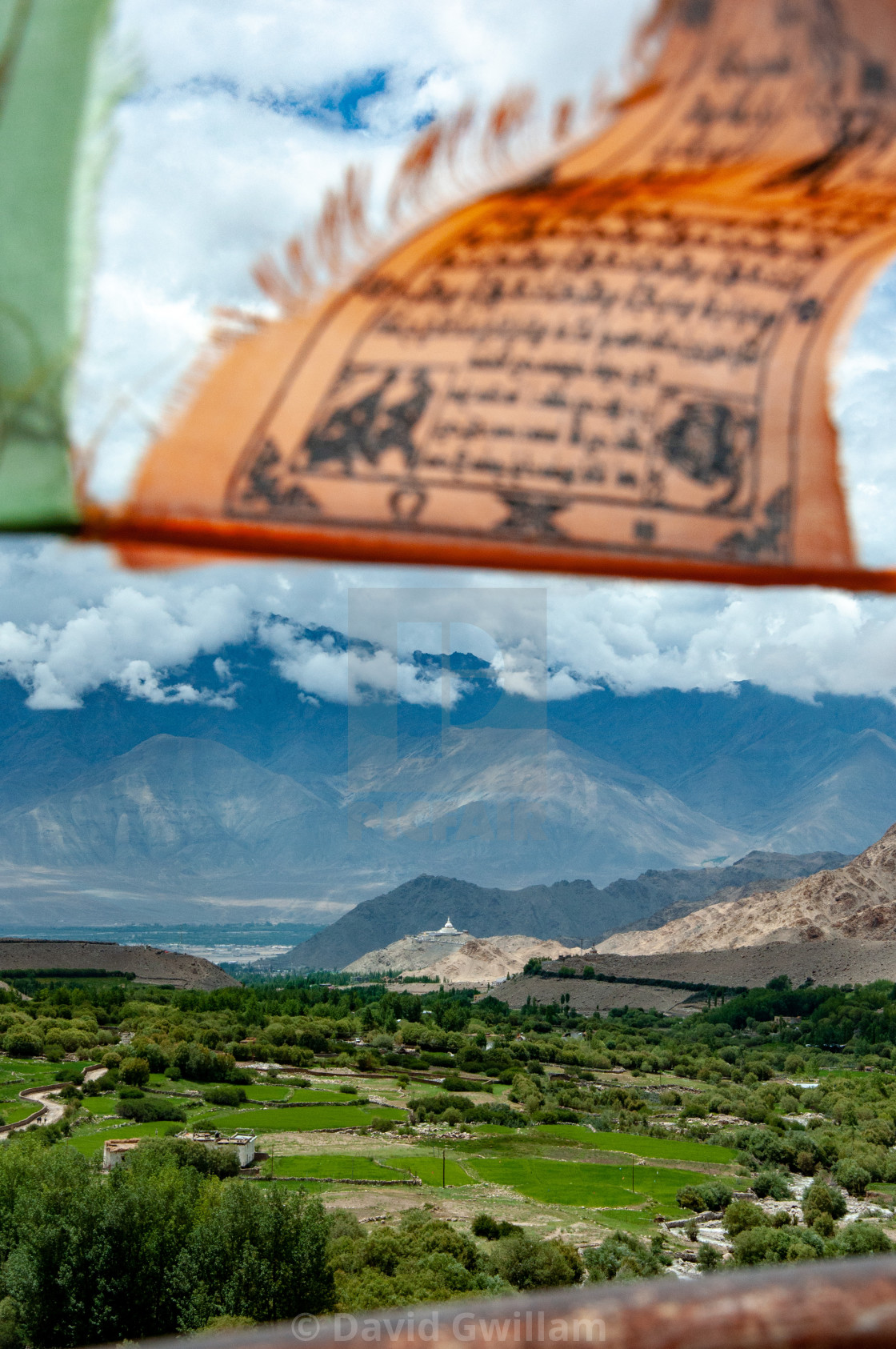 """Ladakh view"" stock image"