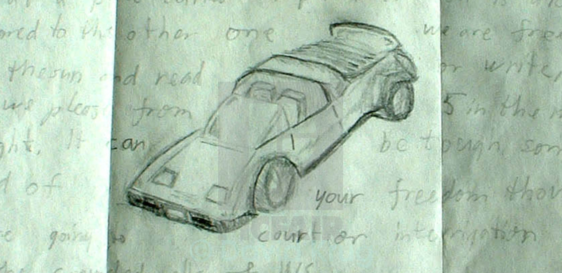 """Car drawing"" stock image"