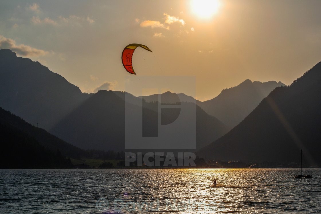 """Beautiful Lake in Austria!"" stock image"