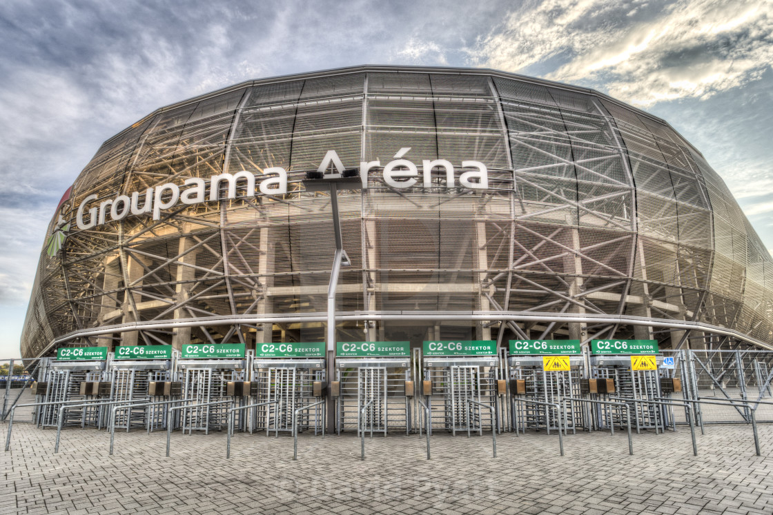 Groupama Arena Budapest - License, download or print for