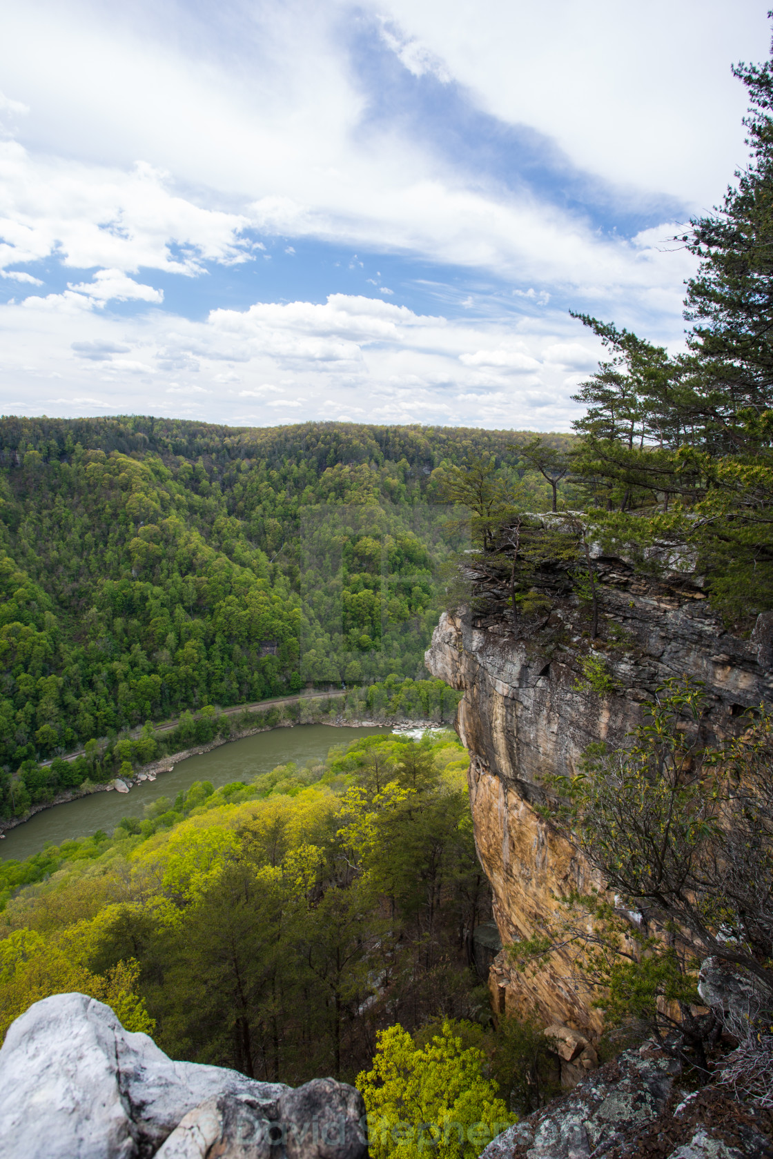 """""""New River Gorge"""" stock image"""