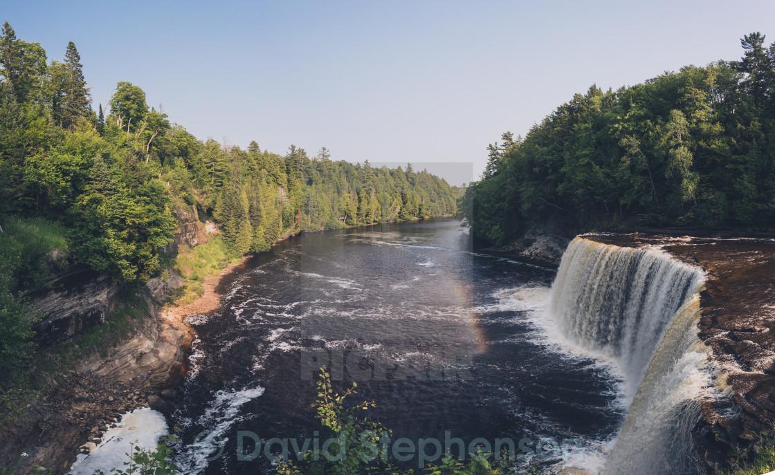 """Michigan Waterfall"" stock image"