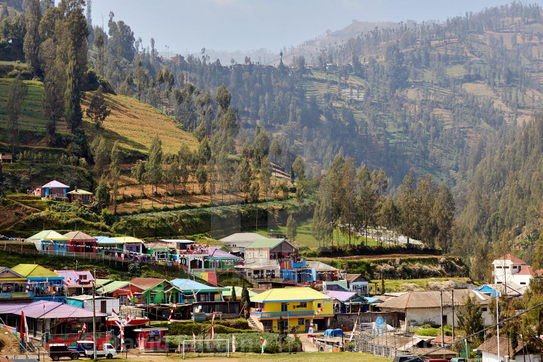 """Tengger Highlands, East Java, Indonesia."" stock image"