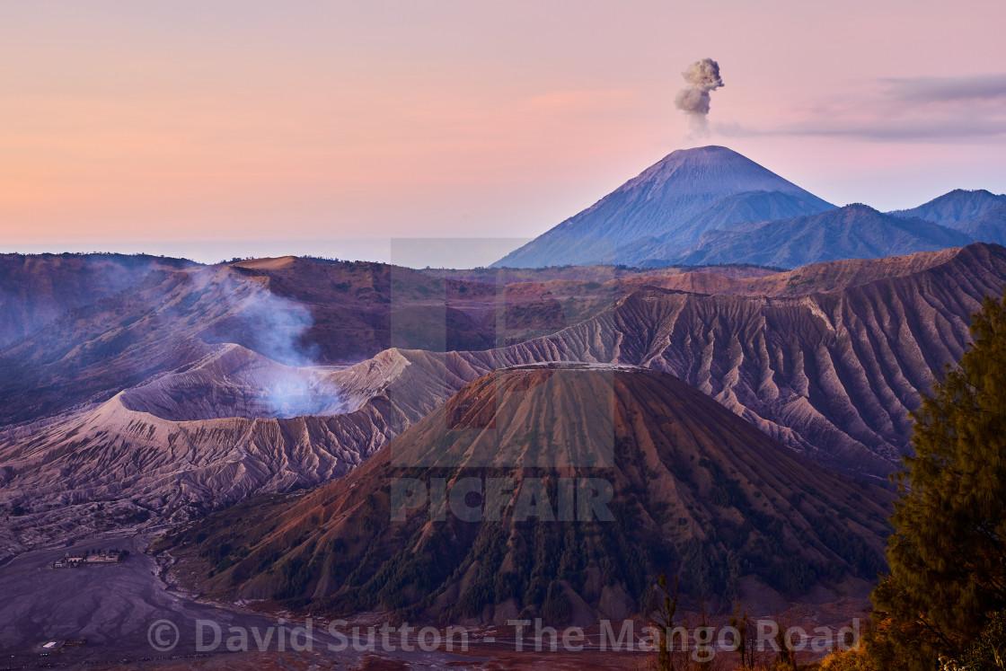 """""""Mt Bromo, East Java"""" stock image"""