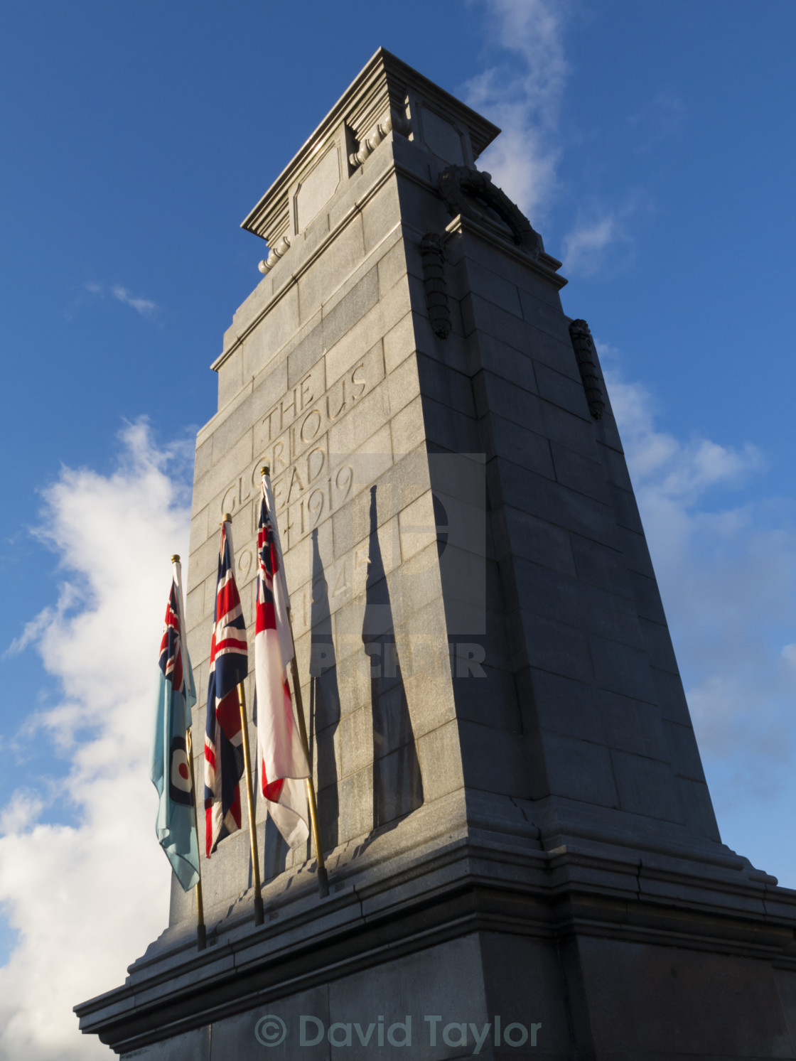 """British War Memorial"" stock image"