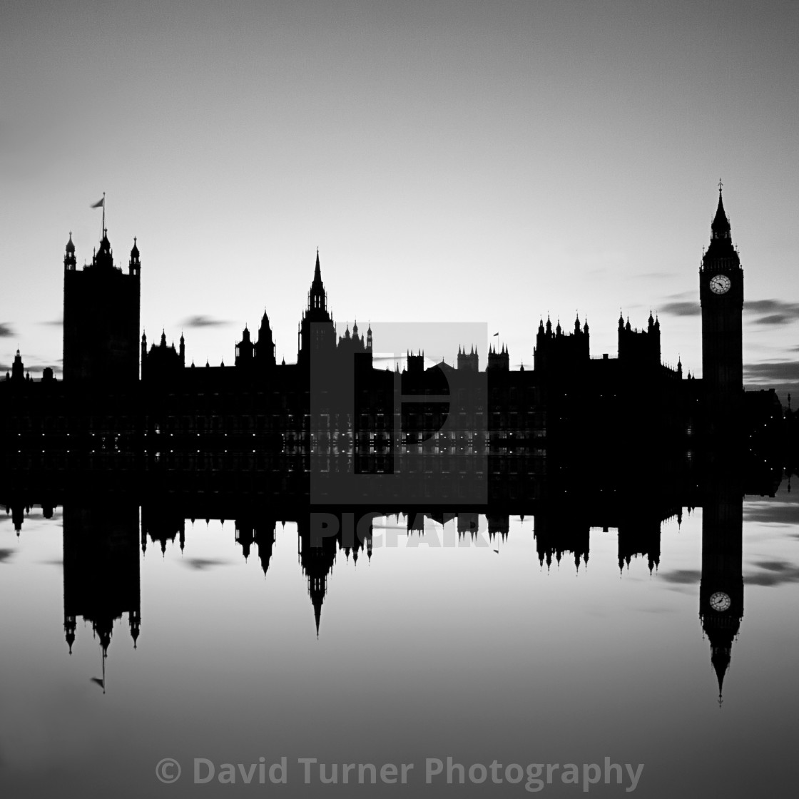 """Westminster Reflections, London"" stock image"