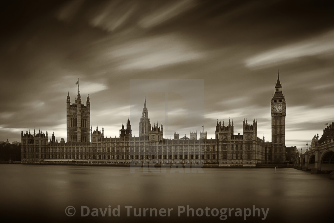 """""""Houses of Parliament, London"""" stock image"""