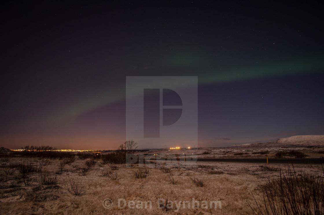 """Northern Lights - Iceland"" stock image"