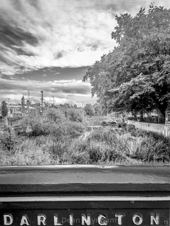 """""""River Skerne - Darlington"""" stock image"""