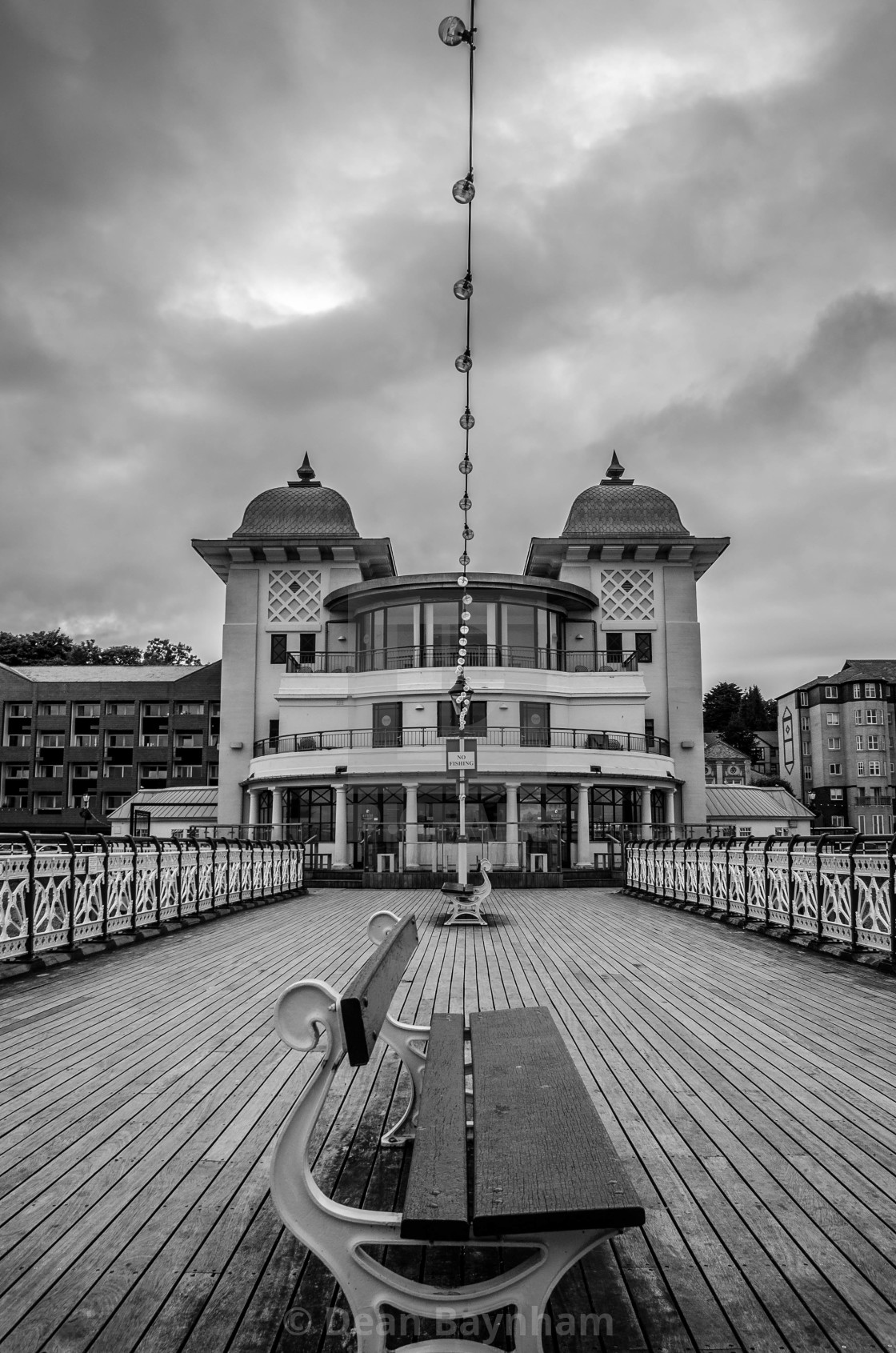 """Penarth Pier - Vale of Glamorgan - Wales"" stock image"