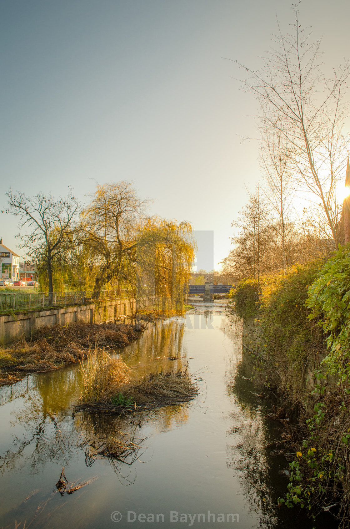 """River Skerne - Darlington"" stock image"
