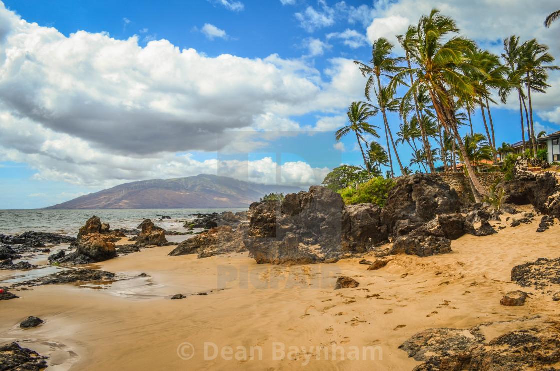 """Kihei - Maui - Hawaii"" stock image"